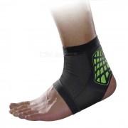 MLD LF1127 tobillo proteccion para pies corse protector - Negro + Verde (L)