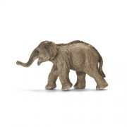 Schleich Asian Elephant Calf Toy Figure