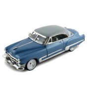1949 Cadillac Series 62 Coupe Diecast Car Model 1 32 Blue