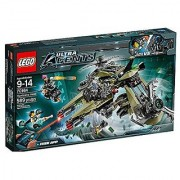 Lego Ultra agent Hurricane robbery 70164