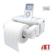 iCarta+ Stereo Dock спийкър с държач за тоалетна хартия за iPod и iPhone, iPhone 3G