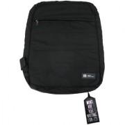 Unisex Black Double Style Convertible Laptop Bag (Dijon Noir)