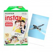 Filme Instax Mini Instantâneo Fujifilm com 10 Unidades