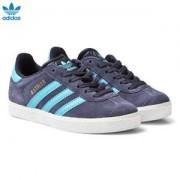 adidas Originals Midnight Grey Kids Gazelle Trainers Barnskor 29 (UK 11)