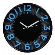 Orologio da parete 3D Methodo - 30,3 - blu/nero - V150010 - 388211 - Methodo