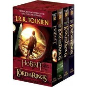 J.R.R. Tolkien 4-Book Boxed Set: The Hobbit and the Lord of the Rings (Movie Tie-In) by J R R Tolkien