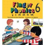Finger Phonics book 6 by Sara Wernham
