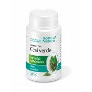 Extract din ceai verde, 30 capsule
