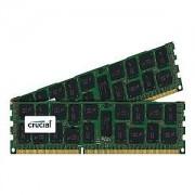 Crucial 64GB DDR3 64GB DDR3 1333MHz ECC módulo de - Memoria (DDR3, 240-pin DIMM, 2 x 32 GB)