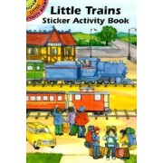 Little Trains Sticker Activity Book by Carolyn Ewing