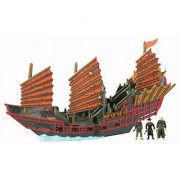 Pirates of the Carribean: Pirate Fleet Empress with Sao Feng Pirate King Elizabeth Swann and Tai Huang