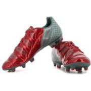 Puma evoPOWER 2.2 Graphic FG Football Shoes(Grey, Red)