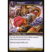World of Warcraft Hunt for Illidan Single Card Pummel #109 Rare [Toy]