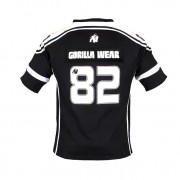 Gorilla Wear GW Athlete T-Shirt Black/White - XXXL