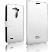 PDNcase LG G3 Case Premium Leather Wallet Carrying Case Compatible for LG G3 Color White