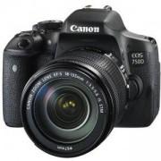 Огледално-рефлексен фотоапарат Canon EOS 750D + EF-s 18-135mm IS STM, AC0592C009AA