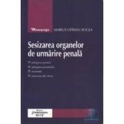 Sesizarea organelor de urmarire penala - Marius Ciprian Bogea