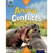 Project X Origins: Brown Book Band, Oxford Level 11: Conflict: Animal Conflicts by Steve Parker