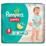 Scutece Active Baby Pants 4 Carry Pack, 24 buc, Pampers