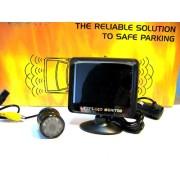 Asistenta la Parcare AUTOWATCH ECO Wireless cu Camera Video si Monitor LCD