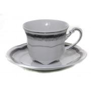 Lucretia 12 piese - serviciu cafea portelan 100 ml