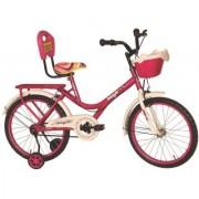 Addo India 20 Ninja Pink White Kids Bicycle