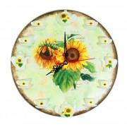 Ceas de perete - Floarea soarelui 7470