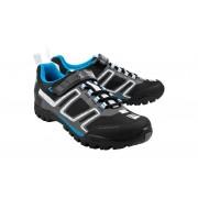 Cube All Mountain Schuhe Unisex black'n'white'n'grey'n'blue 40 Fahrradschuhe