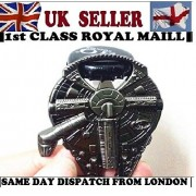 Made by the Rebel Alliance Star Wars Millenium Falcon Metal Bottle Opener - NEW!