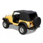 Soft-Top de Urgenta pt. 97-06 Jeep Wrangler TJ - Pavement Ends