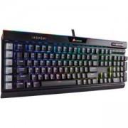 Геймърска клавиатура Corsair K95 RGB PLATINUM, Механична, Backlit RGB LED, Cherry MX Speed, Black (US), CH-9127014-NA