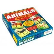 Educativo creativo Animal Farm Activity Puzzle (Set di 4)