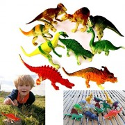 "Dazzling Toys Large Assorted Dinosaurs 4-5"" Larger Size Dinosaur Figures - Pack of 24 (D051/2)"