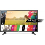 "Televizor LED LG 80 cm (32"") 32LH590U, Smart TV, HD Ready, webOS 3.0, WiFi, CI+ + Lantisor placat cu aur si pandantiv in forma de inel gravat"