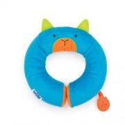 Детская подушка для шеи автомобильная Trunki Yondi Bert Blue Голубая кошечка
