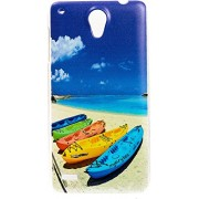 Purple Eyes Exclusive Designer Printed Back Cover for Lenovo S890 (Shoe Boat)