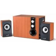 Sistem audio 2.1 Genius SW-HF 1205 Cherry Wood