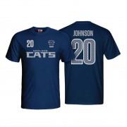 Geelong Cats Mens Number Player Tee Shirt