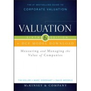 Valuation + Dcf Model Download: Measuring and Managing the Value of Companies