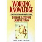 Working Knowledge by Thomas H. Davenport