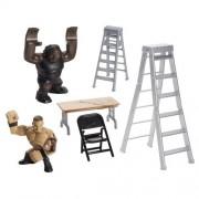 WWE Rumblers Rampage Mark Henry and Randy Orton TLC Play Set