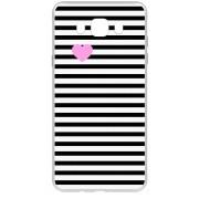 Husa silicon TPU Samsung Galaxy J5 (2016) J510 Little Heart