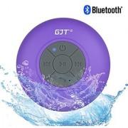 GJTWireless Bluetooth Waterproof Shower Speaker: 3.0 Speaker Mini Water Resistant Wireless Shower Speaker Handsfree Po