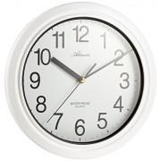 Reloj de pared analógico blanco Atlanta 453-0