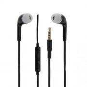 Premium Quality 3.5 MM Stereo Dynamic Earphones / Ear Buds with Mic and Volume Rocker Black Compatible With HTC Desire 620G By AlbacaseTM