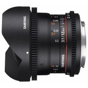 Samyang 12mm T3.1 VDSLR ED AS NCS Fish-eye (Canon EOS)