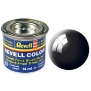 Revell 32107 RAL 9005 - Bote de pintura (14 ml), color negro brillante
