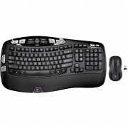 Logitech MK550 920-002555 Wireless Wave Mouse And Keyboard