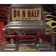 Racing Champions Mint Hot Rods #7 1964 1/2 Ford Mustang by Racing Champions