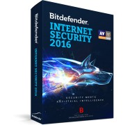Bitdefender Internet Security 2016, 3 ani, 10 utilizatori - LICENTA RENEWAL